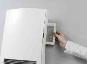 Calefactor de ba o de color blanco - Calefactores de bano ...