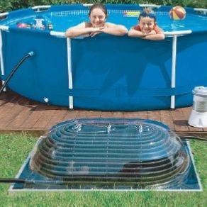 Calefactor a energia solar para piscinas for Calefactor para piscina