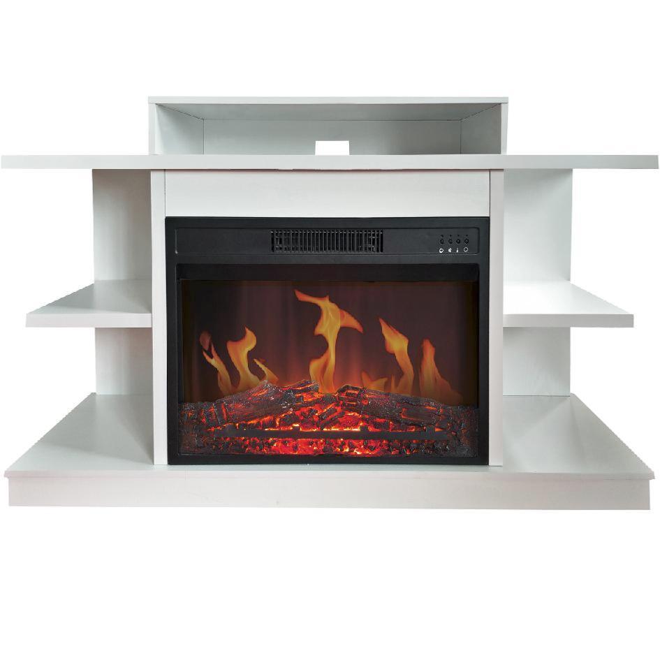 Comprar mueble tv y chimenea el ctrica calefactor cl 147 - Chimenea electrica mueble ...