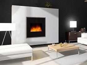 Chimeneas el ctricas con efecto llama y calefactor - Chimeneas electricas de diseno ...