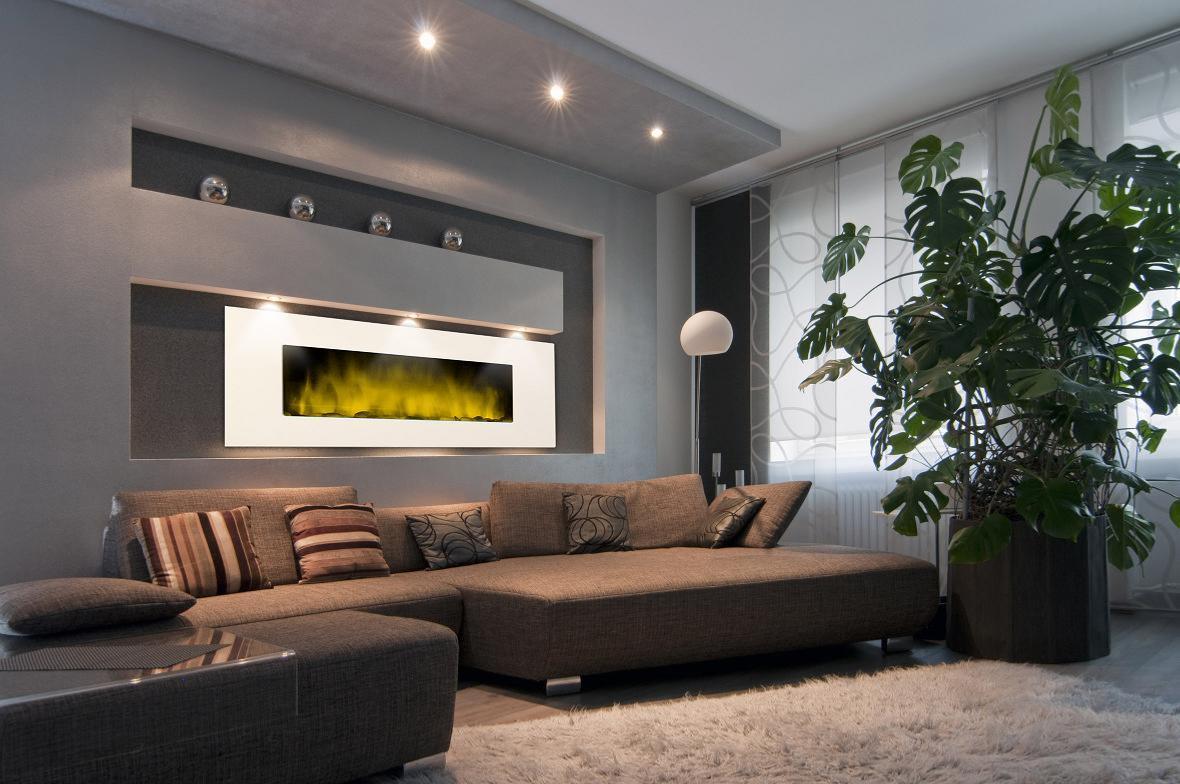 Chimeneas el ctricas decorativas modernas efecto fuego for Duchas electricas modernas