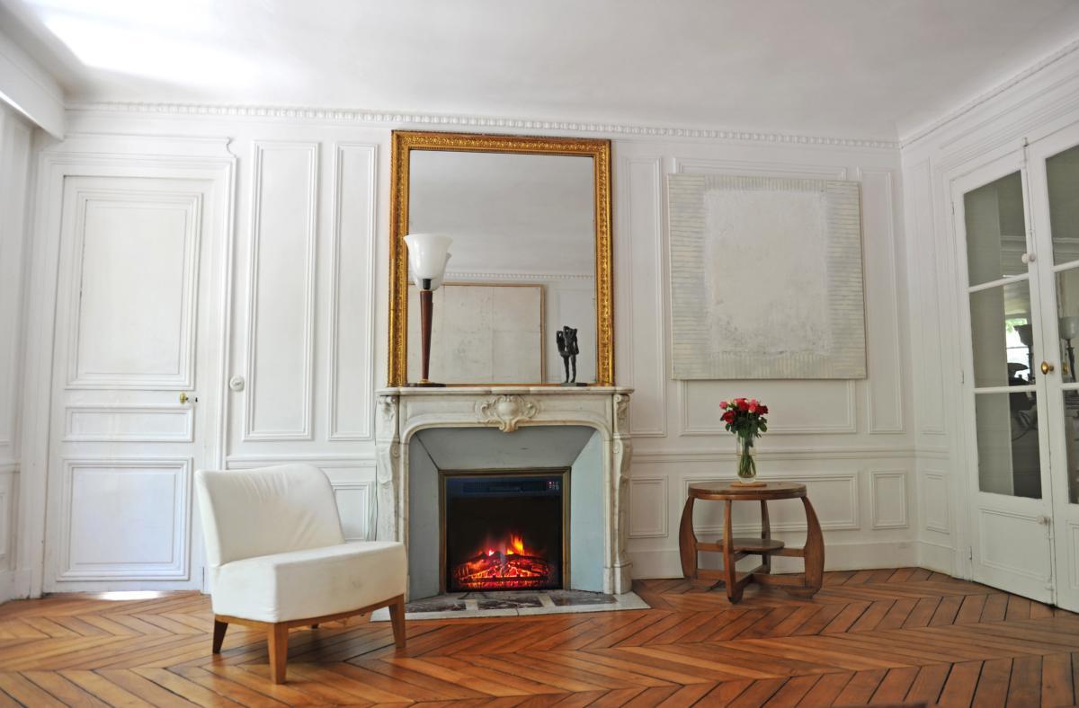 Chimenea electrica encastrable en pared o mueble cl 118 - Modelos de chimeneas electricas ...